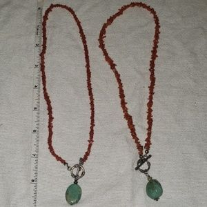 Jewelry - Necklace double set